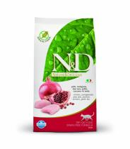 N&D Grain Free Cat Adult Chicken & Pomegranate 10kg