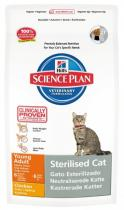 Hill's Feline Dry Adult Young Sterilised Chicken 1,5 kg