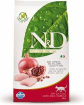 N&D Grain Free CAT Neutered Chicken&Pomegranate 300g