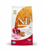 N&D Low Grain CAT Neutered Chicken & Pomegranate 5kg