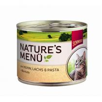 Schmusy cat Nature Menu kuře losos 190g