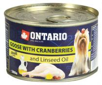 Ontario Mini Cranberries Dandelion and linseed oil 200g