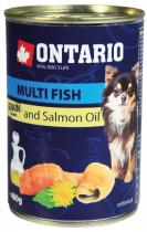 Ontario Mini Multi Fish and Salmon Oil pes 400g