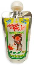 Animal Fruit kapsička hlodavec jablko+mrkev 120g