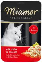Miamor Cat Filet kuře+rajče ve šťávě 100g