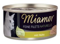 MIAMOR Feine Filets Naturelle kuře ve šťávě 80g