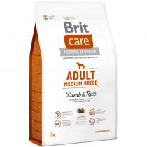 Brit Care Adult Medium Breed Lamb Rice 3kg