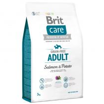 Brit Care Grain-free Adult Salmon Potato 3kg