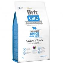 Brit Care Grain-free Junior LB Salmon Potato 3kg
