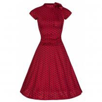 LINDY BOP Dottie Red Polka