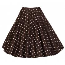 LINDY BOP Retro Peggy Chocolate Polka