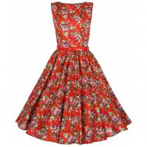 LINDY BOP RETRO AUDREY Vintage Red