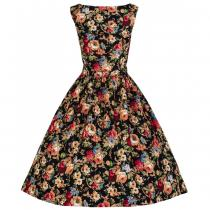 LINDY BOP RETRO Audrey Black Floral