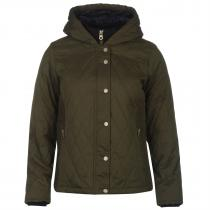 SoulCal Luxe Padded Jacket Khaki