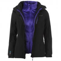 Gelert Horizon 3 in 1 Jacket Black