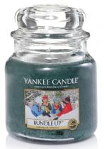 Yankee Candle vonná svíčka Bundle Up 411 GRAMŮ