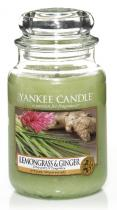 Yankee Candle Lemongrass & Ginger 625 GRAMŮ