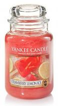 Yankee Candle vonná svíčka Strawberry Lemon Ice 625g