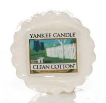 Yankee Candle vonný vosk Clean Cotton 22g