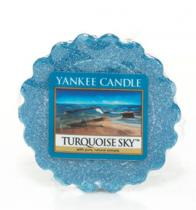 Yankee Candle vonný vosk Turquoise Sky 22 GRAMŮ