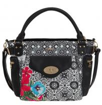 Desigual Mcbee Eixample Tropical Negro