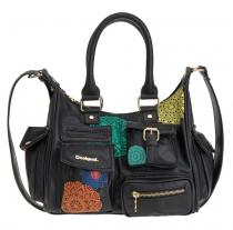 Desigual Mini London Selina Negro