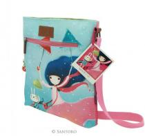 Santoro - Kori Kumi Coated Cross Body Bag - Under My Umbrella