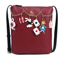 Vendula London Alice Charm Crossbody Bag
