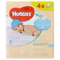 HUGGIES® Quatro Pack Pure 56 ks