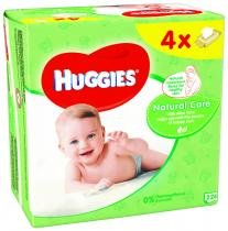 HUGGIES® Quatro Pack Natural Care 56 ks