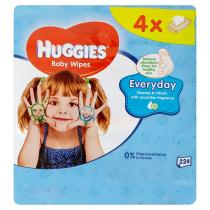 HUGGIES® Quatro Pack Everyday 56 ks