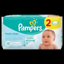 PAMPERS Fresh Clean 64 ks