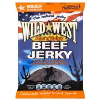 HOT N SPICY BEEF JERKY 25g WILD WEST JERKY
