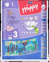 BELLA HAPPY Midi (5-9kg) 1ks