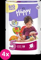 BELLA HAPPY Junior (12-25kg) Big Pack 58ks