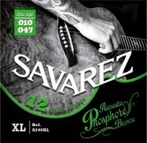 SAVAREZ ACOUSTIC PHOSPHOR-BRONZE 12-ti str. 010