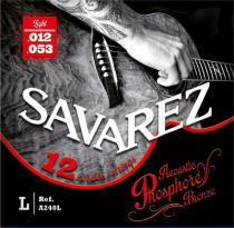 SAVAREZ ACOUSTIC PHOSPHOR-BRONZE 12-ti str. 012