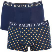 Ralph Lauren 2PACK  Polo Blue With Yellow Dots Gift Box