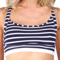 Mosmann Australia Acadia Crop Top Coastal Navy