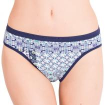 Victoria's Secret  aqua splash geo patchwork