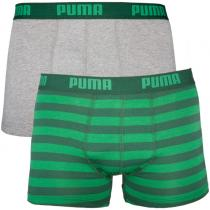 Puma 2PACK Green Stripes Long