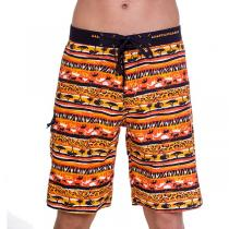 69SLAM Dlouhé Boardshort Savana Orange
