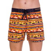 69SLAM Krátké Boardshort Classic Savana Orange