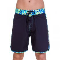69SLAM Krátké Boardshort Long Palm Tree Blue