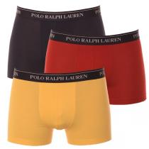 Ralph Lauren 3PACK Navy / Yellow / Red