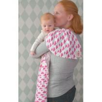 Lodger Swaddler Cotton Rosa