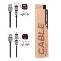 M-Q CABLE M-Q CABLE DATOVÝ KABEL MICRO USB + IPHONE 5/6