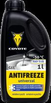 Coyote Antifreeze nemrznoucí směs do chladičů Univerzal READY -30°C 1l