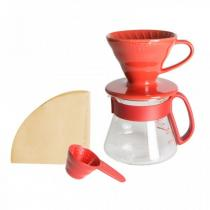 HARIO CO.,LTD. Pour Over Kit Ceramic V60-01