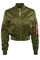 Alpha Industries MA-1 VF PM Cropped Bomber Bunda